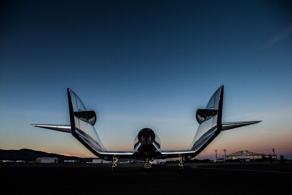 SpaceShipTwo Unity Virgin Galactic