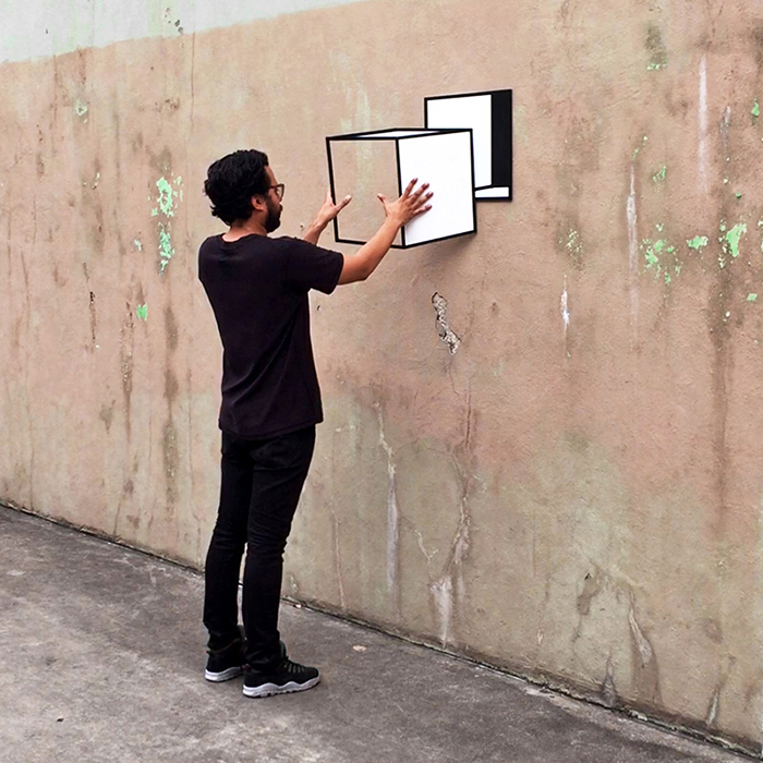 """Take Out II"" by Aakash Nihalani"